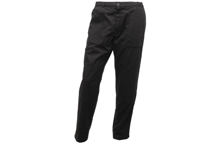 Regatta Mens Sports New Lined Action Trousers (Black) (46 Short)