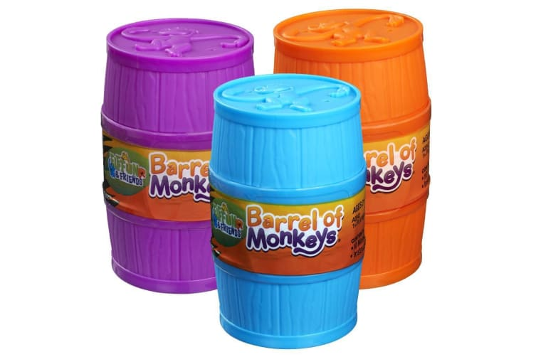 Monkeys In A Barrel Classic Game