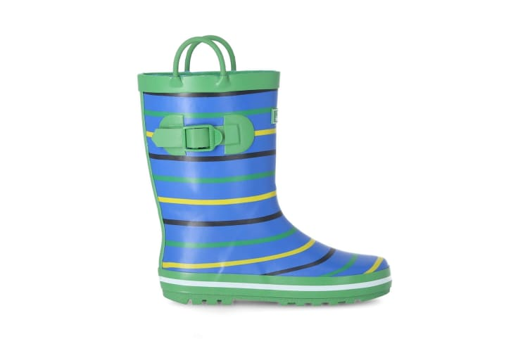 Trespass Childrens Boys Splash II Wellington (Stripe) (10 Child UK)