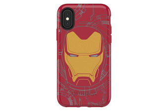 Otterbox iPhone X/XS Symmetry Series Marvel Avengers Ultra Slim Cover for Apple - I am Iron Man