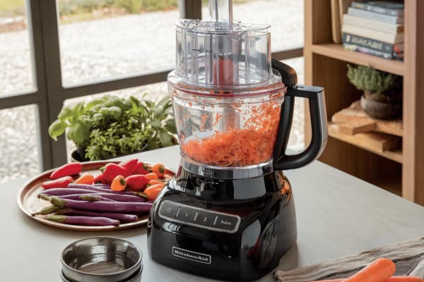 KitchenAid Classic Food Processor - Onyx Black (5KFP1325)