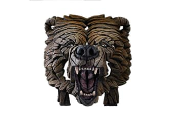 Edge Sculpture Bust - Grizzly Bear