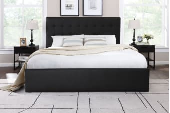 Shangri-La Bed Frame - Symphony Collection (Black)