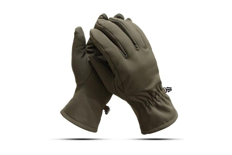 Outdoor Sports Warm Gloves Windbreak And Skid-Proof Riding Tactical Gloves - Green Green XL