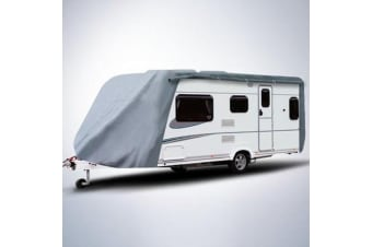 Kaiser Boating 16-18ft Caravan Cover - Heavy Duty 300D Oxford Polyester, Waterproof, UV Resistant