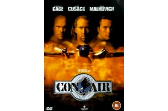 Con Air  - Rare- Aus Stock DVD  PREOWNED: DISC LIKE NEW