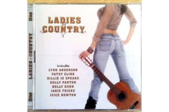 LADIES OF COUNTRY Pop Music 2DISC Cline Spears Parton MUSIC CD NEW SEALED