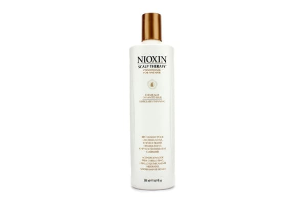 Nioxin System 4 Scalp Therapy Conditioner For Fine Hair, Chemically Treated, Noticeably Thinning Hair (500ml/16.9oz)