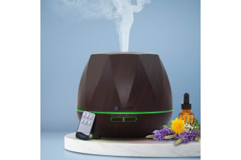 Devanti Ultrasonic Aroma Aromatherapy Diffuser Oil Electric Air Humidifier DW