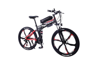 "AKEZ 350W 36V LH Electric Bike eBike Mountain Motorized Bicycle 26"" w/ Removable Battery"
