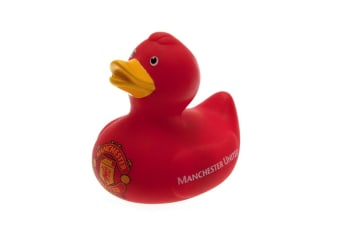 Manchester United Official Bath Time Duck (Red)