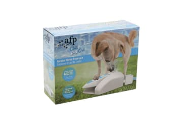 Chill Out Garden Water Fountain Water Powered by Dog Pet Water Dispenser Summer