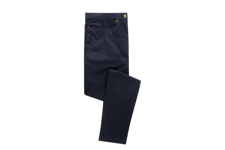 Premier Mens Performance Chinos (Navy) (32L)