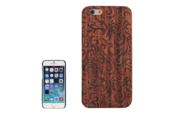 For iPhone 6S 6 Case  Grass Pattern High-Quality Wooden Shielding Cover