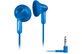 Philips SHE3010BL Earbuds Earphones Headphones In-Ear for Radio MP3 CD Player