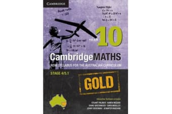 Cambridge Mathematics GOLD NSW Syllabus for the Australian Curriculum Year 10 Pack (Textbook and Interactive Textbook)