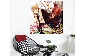 3D Natsume 2019 Anime Wall Stickers Self-adhesive Vinyl, 50cm x 30cm(19.7'' x 11.8'') (WxH)