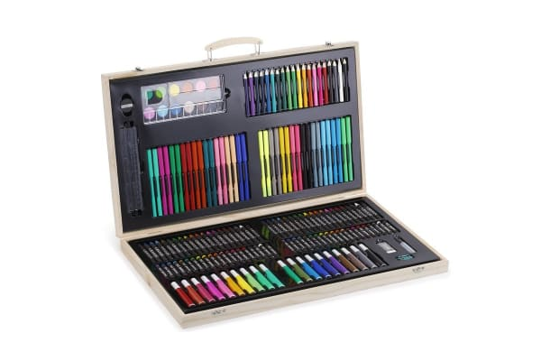 180 Piece Wooden Art Set