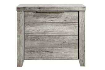 Alice Bedside Table (White Ash)