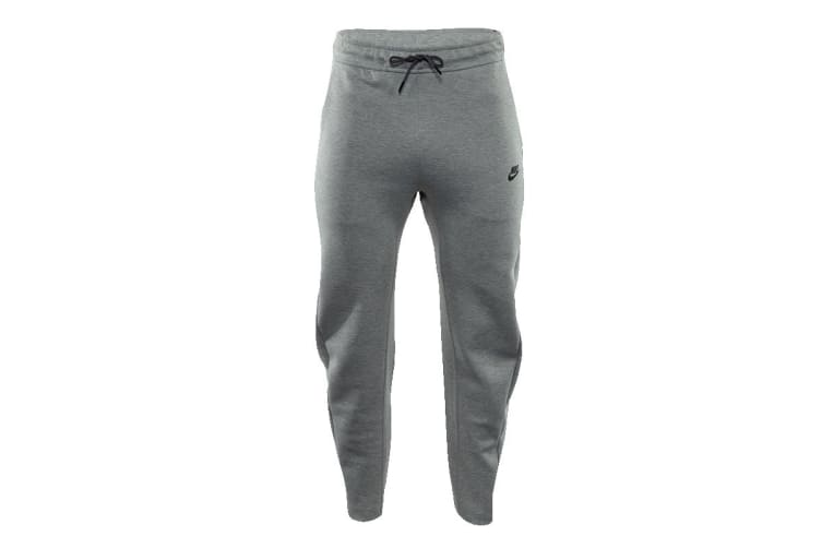 Nike Sportswear Men's Tech Fleece Trousers (Dark Grey Heather/Black/Black, Size M)