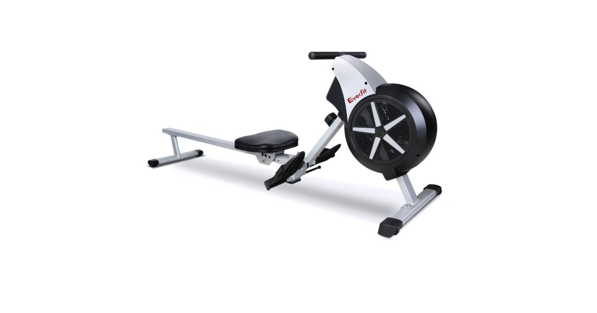 Everfit 8 Level Rowing Exercise Machine | Fitness Equipment |