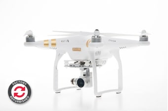 DJI Phantom 3 Professional with Integrated UHD 4K Stabilised Camera - Official DJI Refurbished