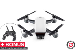 DJI Spark (Alpine White) - Official DJI Refurbished