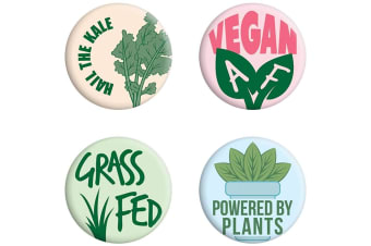 Grindstore Hail The Kale Badge Pack (Multicoloured)