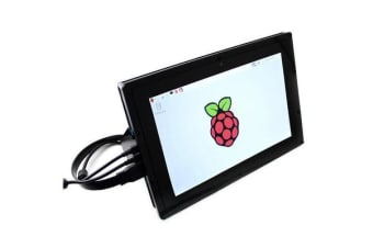 """Raspberry Pi 10.1"""" LCD Touch Screen Kit with Acrylic Frame and Power Supply"""