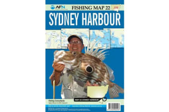 Sydney Harbour : AFN Fishing Map 22