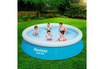 Bestway Swimming Pool Above Ground Fast Set Round Fast Play Pool