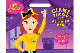 The Wiggles Emma! : Giant Sticker Activity Pad