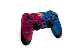 FC Barcelona Official PS4 Controller Skin (Burgundy/Blue) (One Size)