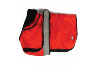 Danish Design 2 In 1 L/R Dog Coat (Orange)