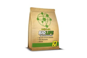 Vegan Protein Powder Supplement | 1kg Salted Caramel Bioflex Biolife Plant Based