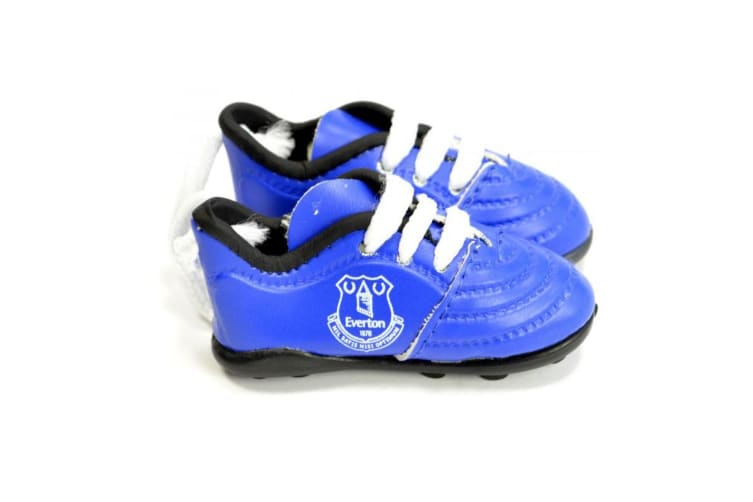 Everton FC Boots Car Hanger (Blue/White) (One Size)