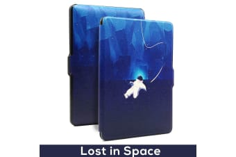 Quality Colorful Painting Leather Cover for Kindle Paperwhite 1/2/3-Lost in Space
