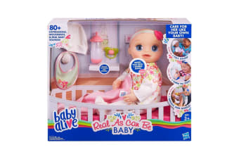 Baby Alive Real As Can Be Baby Doll - Blonde