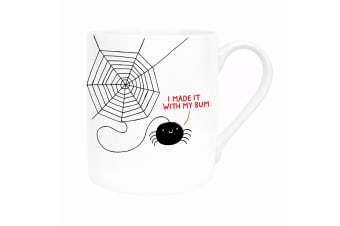 Ohh Deer I Made It With My Bum Mug (White/Black/Red)