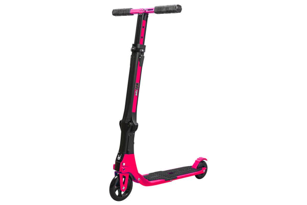 Go Skitz Tour Folding Scooter with Backpack Pink
