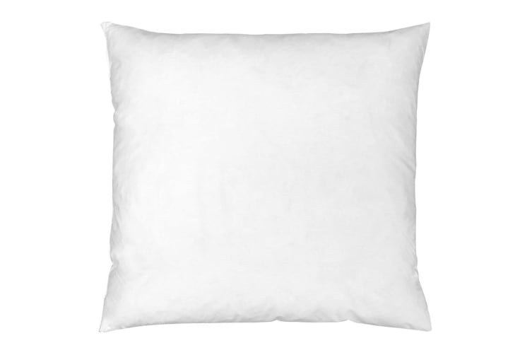 Riva Home Feather Cushion Pad (White) (40x40cm)