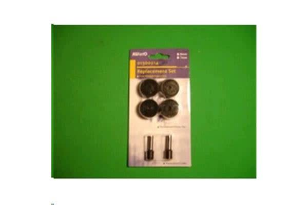 KW-triO Replacement Cutter Set + 4 Discs for Power Punch 952/953 & 954