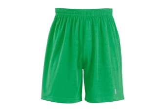 SOLS Childrens/Kids San Siro 2 Sport Shorts (Bright Green) (10yrs)