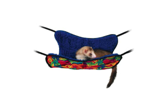 Interpet Limited Superpet Hanging Fuz Hammock (Multicoloured)