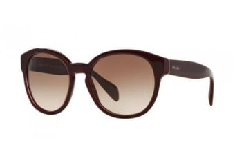 Prada PR18RS 56mm - Opal Bordeaux (Brown Gradient lens) Womens Sunglasses