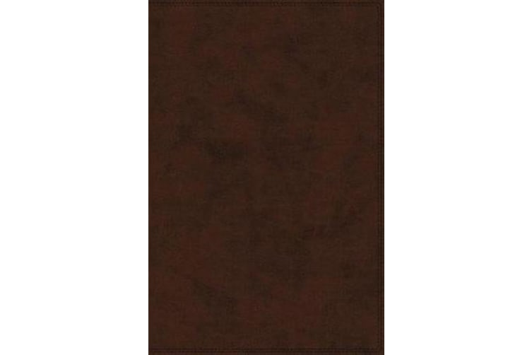 NET Bible Indexed Full-Notes Edition [Brown]