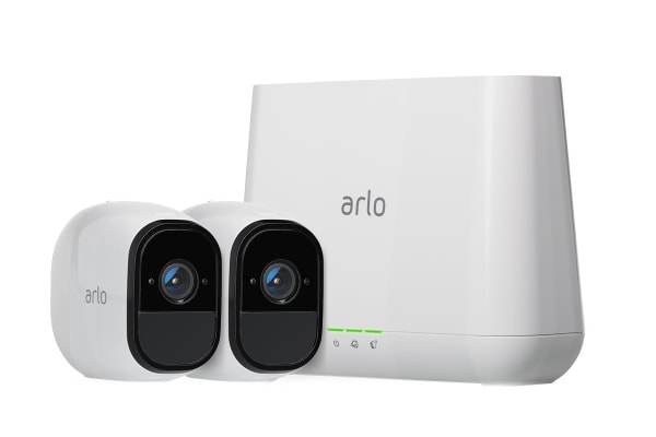 Netgear VMS4230 Arlo Pro - Indoor/Outdoor Wire-Free HD Home Security - 2 Camera System
