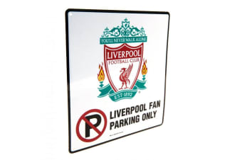 Liverpool FC No Parking Sign (White)
