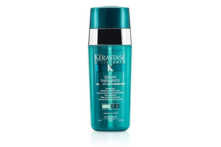 Kerastase Resistance Serum Therapiste Dual Treatment Fiber Quality Renewal Care (Extremely Damaged Lengths and Ends) 30ml