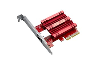 ASUS XG-C100C 10GB Base-T PCIe Network Adapter with Backward Compatibility (XG-C100C)